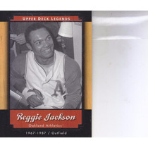 2001 Upper Deck Legends Reggie Jackon Of Athletics