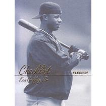 1997 Fleer Checklist Ken Griffey Jr. Mariners