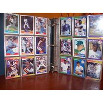 700 Tarjetas De Beisbol De Los 80s