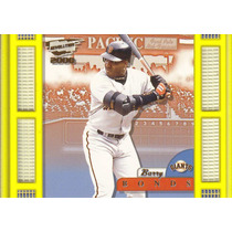 2000 Revolution Foul Pole Net-fusions Barry Bonds Sf Giants