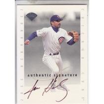 1996 Leaf Autografo Jose Hernandez Cubs
