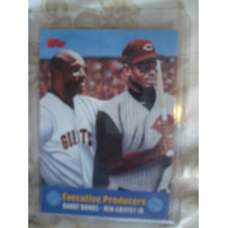 Tarjeta De Ken Griffey Jr Y Barry Bnds Executive Producers