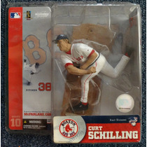 Curt Schilling Boston Red Sox Mcfarlane Series 10 2004