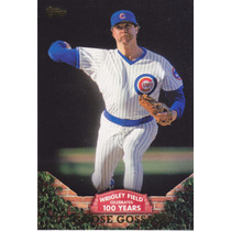2016 Topps Series 1 100 Years At Wrigley Goose Gossage Cubs