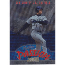 1998 Stadium Club With Passion Ken Griffey Jr Mariners