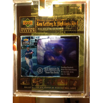 Tarjeta 1993 Upper Deck Diamond Vision Ken Griffey Jr. Omm