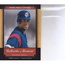 2001 Upper Deck Legends Roberto Alomar 2b Indians