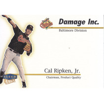 1999 Ultra Damage Inc Cal Ripken Jr Orioles