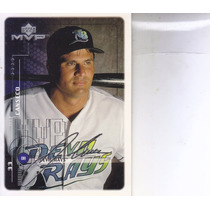 1999 Upper Deck Mvp Silver Script Jose Canseco Dh Rays