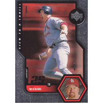 1999 Upper Deck View To Thrill Mark Mcgwire Cards