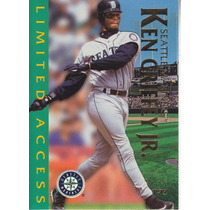 1997 Fleer Circa Limited Access Ken Griffey Jr Mariners