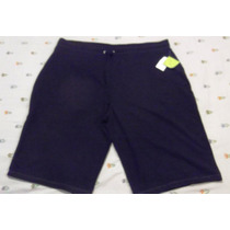 Bermuda Tipo Pants Style&co T/2x 40/42 Negra Envio Gratis