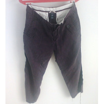 Pantalon Pesquero Gap Purpura T-4 Verano,rock Sexy,sport,