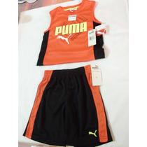 Conjunto Short Y Playera Puma