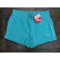 Nuevo Shorts Puma Azul Talla Xs