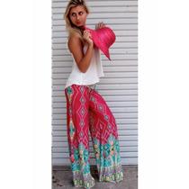 Suku 60616 Bonitos Pantalones Estampados Moda Japón $299