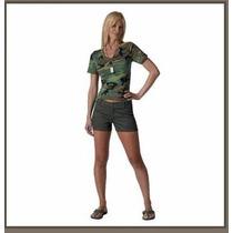 Short Militar Para Dama Marca Rothco E4f