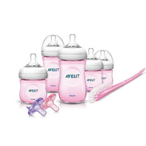 Avent Natural Set Recien Nacido Rosa Y Azul