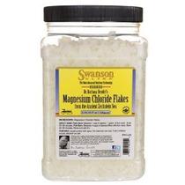 Cloruro De Magnesio Flakes 2,2 Libras (35,27 Oz) Flakes