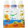 Evenflo Zoo Amigos 3 Conde Standard Nipple Botella De 8 Onza