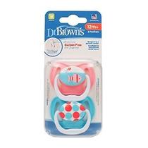 2 Paquete Prevenir Chupete 12+ Meses Del Dr. Brown