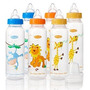 Evenflo Feeding Zoo Amigos Anatómicas Botellas De 8 Onzas (p