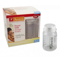 Paquete De 4 Botellas Ameda 5oz (150ml) Almacenar Congelar