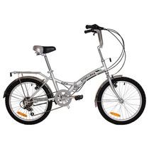 Bicicleta Plegable Para La Ciudad Cambio Shimano 6 Vel. Bfn