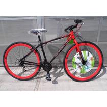 Bicicleta Aluminio Mercurio Bronx Rodada 700