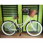 Bicicleta Retro Vintage 144 Rayos Rodada 26 Beige