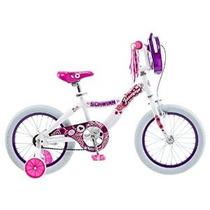 De Schwinn Chica Jasmine Bicicletas De 16 Pulgadas En Blanco