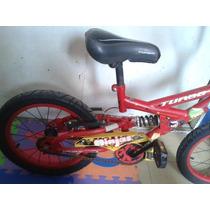 Bicicleta Turbo Ninjas De 6 A 8 Años
