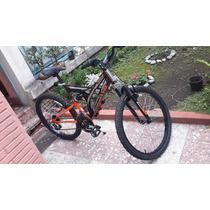 Bicicleta Benotto Rodada 24 Doble Suspensión 21 Velocidades
