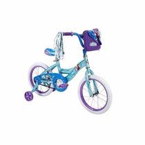 Bicicleta Disney Frozen R,16 Elsa Anna !!!