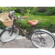 Bicicleta Retro Vintage Varios Colores Mujer Y Hombre