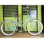Bicicleta Retro Vintage Rodada 26 36 Rayos Azul Cielo