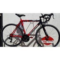 Bicicleta Ruta Carrera Triatlon Aluminio 2016 Ligera 12 Kg