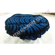 Lowrider Cubre Volante Terciopelo Azul