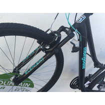 Bicicleta Montaña Mongoose Blacklady 26 Suspension 2017mujer