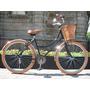Bicicleta Retro O Vintage R24 Negro - Miel