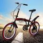 Bicicleta Folding Plegable 6 Velocidades Shimano Aluminio