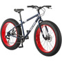 Bicicleta Mongoose Para Adulto Llantas Tipo Moto 26 7 Velo