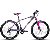 Bicicleta R.26 Alubike Xcw Gris/morado Slite Series
