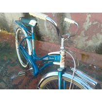 Bicicleta Antigua Monark De Tanque 60s