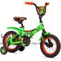 Bicicleta Para Niños Dino Power Color Verde