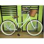 Bicicleta Retro Vintage Rodada 26 De 144 Rayos Verde Menta