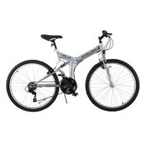 Bicicleta Montaña Plegable Stowabike Shimano Plateada Acero