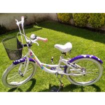 Bicicleta Para Niña Marca Turbo -usada Excelente Condicion-