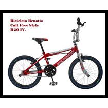 Bicicleta Benotto Cult Free Style R20 1v.