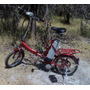 Bicicleta Electrica Plegable Para Ciudad De Baja Potencia